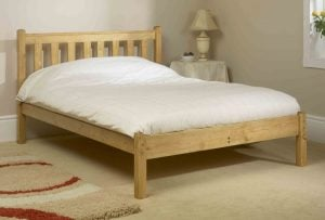 Simple Wooden Bed Frame
