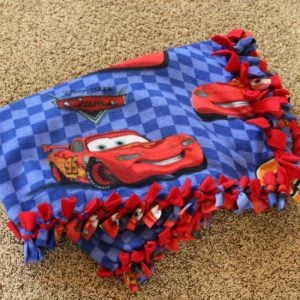 Tied Fleece Blanket