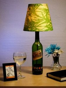 Wine Bottle Lamp Shade