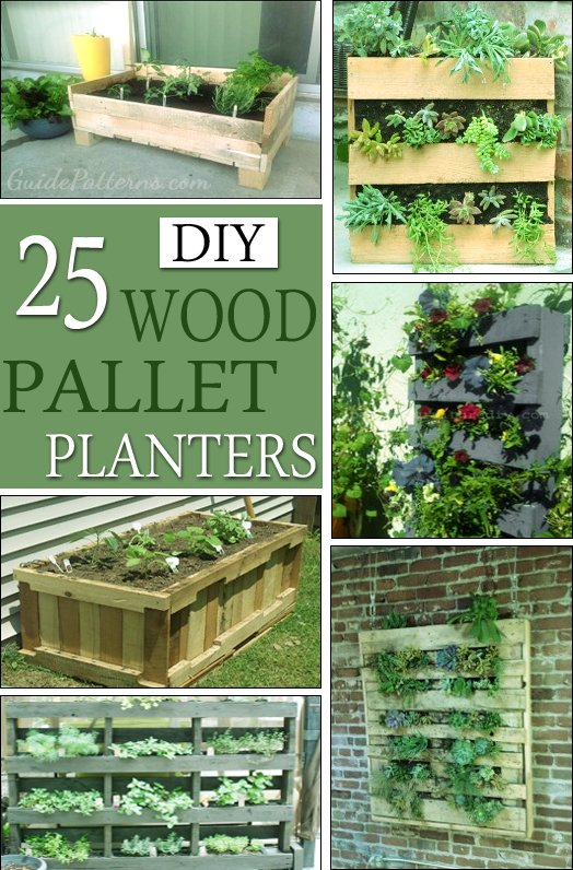 25 Easy Diy Plans And Ideas For Making A Wood Pallet Planter Guide