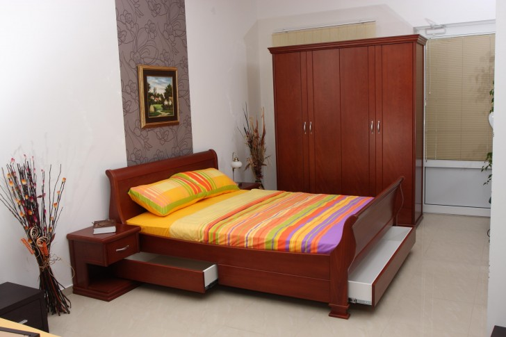 Wooden Frame Bed Designs
