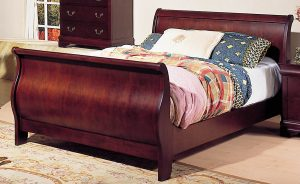 Wooden Sleigh Bed Frame