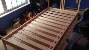 Wooden Twin Bed Frame
