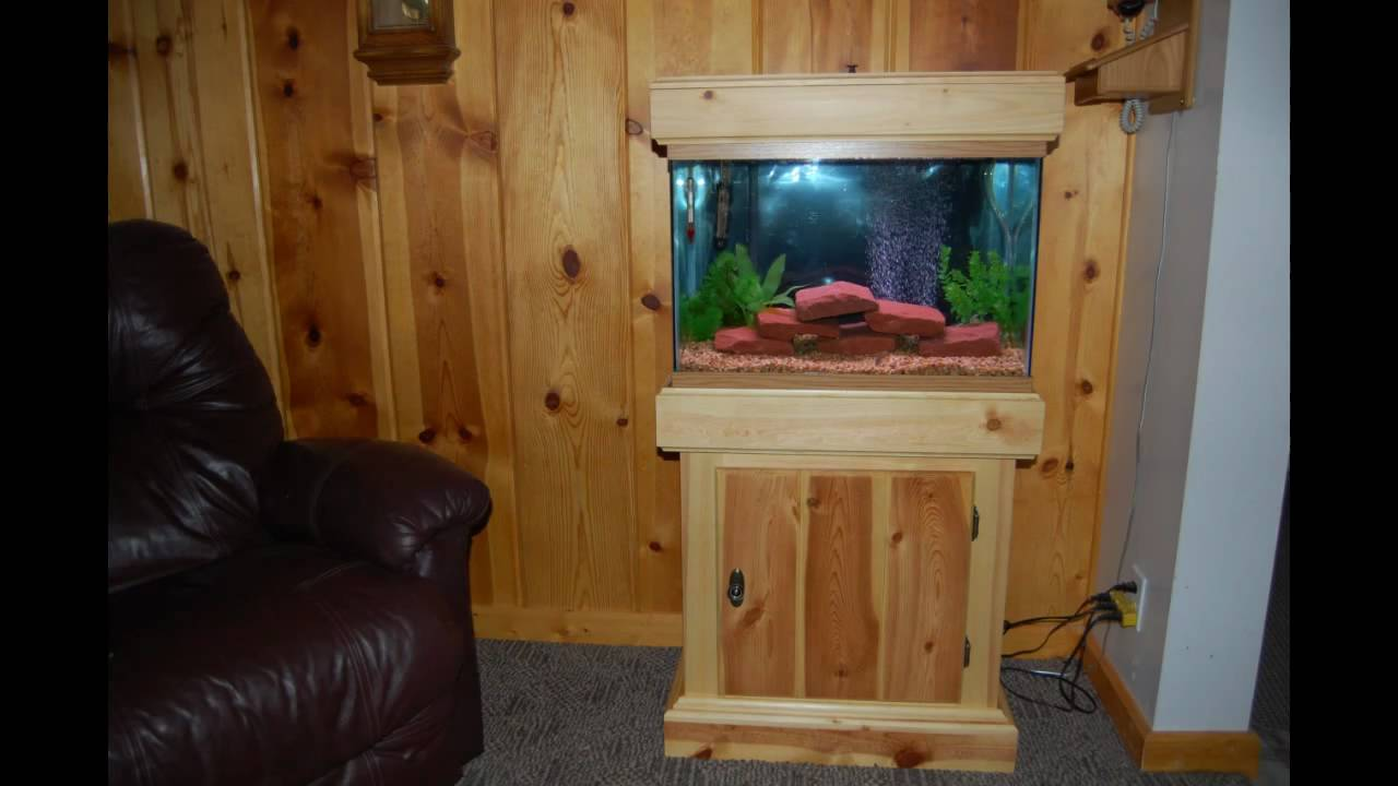 10 Gallon Fish Tank Stand & 28 DIY Aquarium Stands with Plans | Guide Patterns