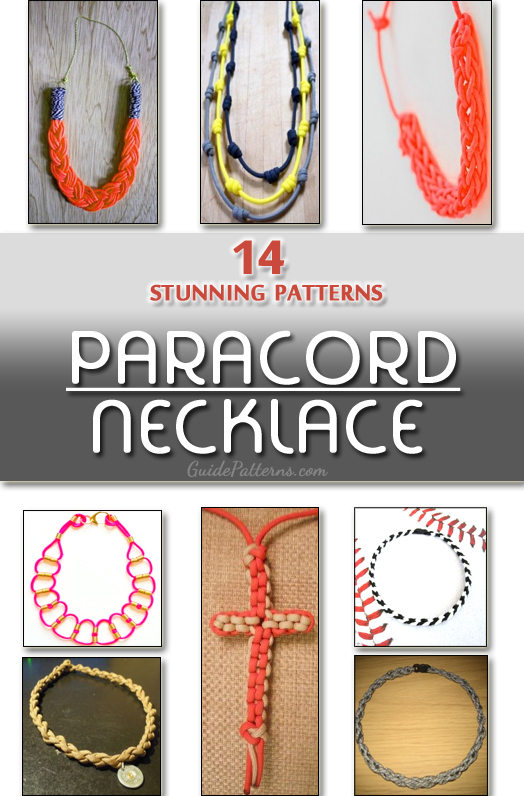 14 Stunning Paracord Necklace Pictures
