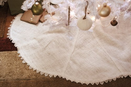 10 Interesting Ways to Make Burlap Christmas Tree Skirt | Guide ...