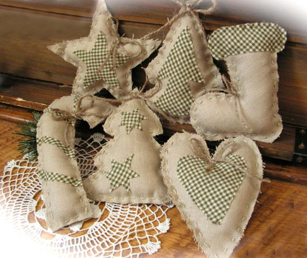burlap christmas craft ideas