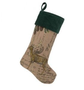 Burlap Stockings Christmas