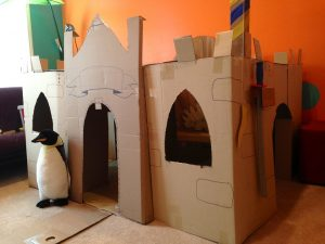 Cardboard Castle Playhouse