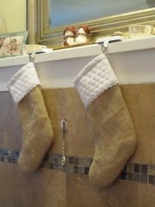Christmas Stockings Burlap
