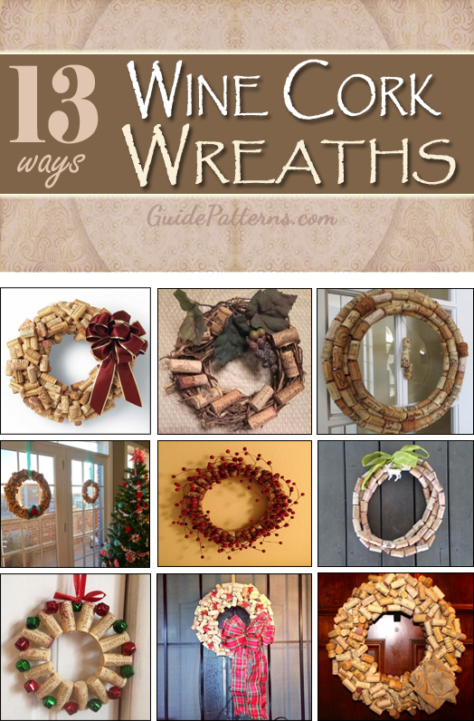 Creative Ways to Make a Wine Cork Wreath