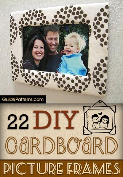 22 diy cardboard picture frames guide patterns solutioingenieria Gallery