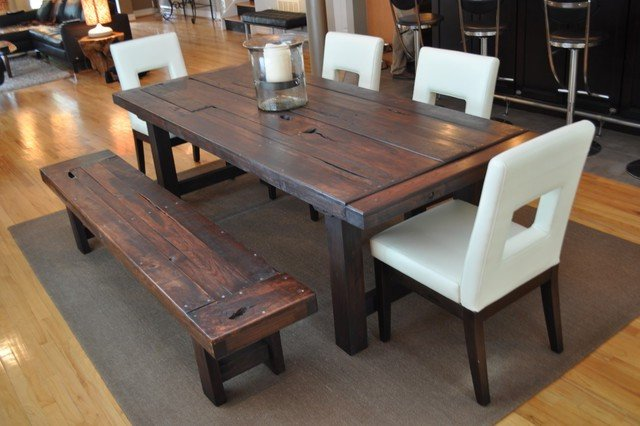 Charmant DIY Dining Room Table Idea