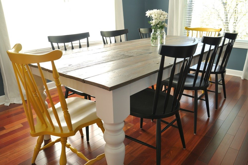 Diy Kitchen Table Ideas Part - 47: DIY Dining Room Table Plan