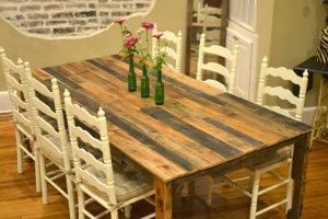 DIY Dining Table Room Décor