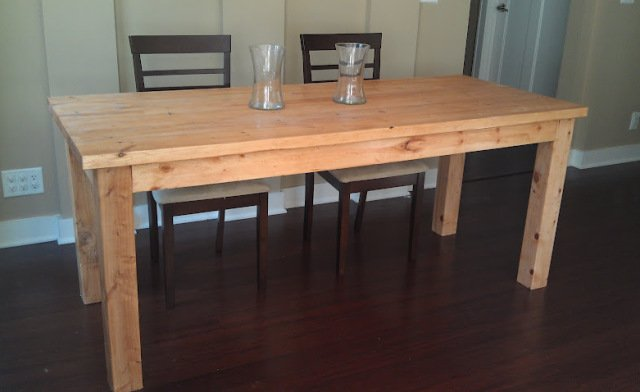 make my own dining room table tops diy plans a bigger