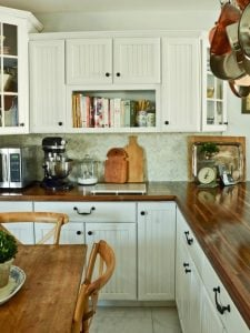 DIY Wooden Kitchen Countertop