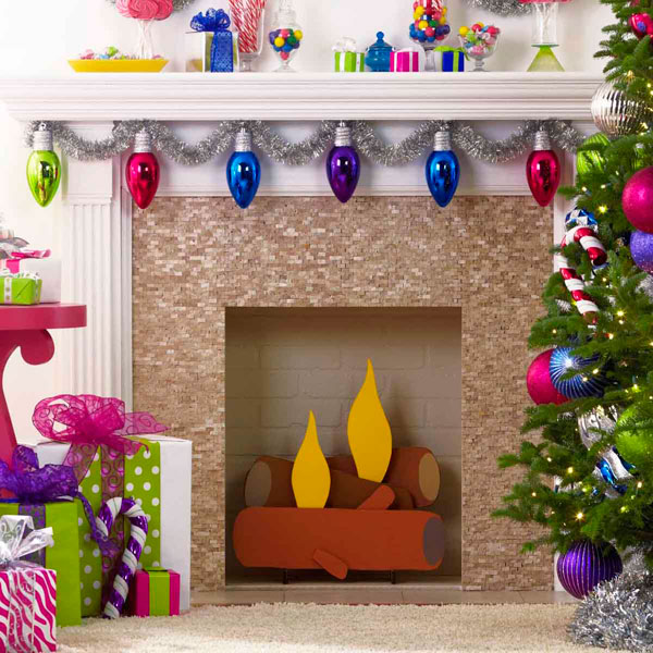 12 tutorials to make a cardboard fireplace guide patterns fake cardboard fireplace solutioingenieria Gallery