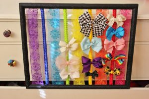 Hair Bow Holder Frame