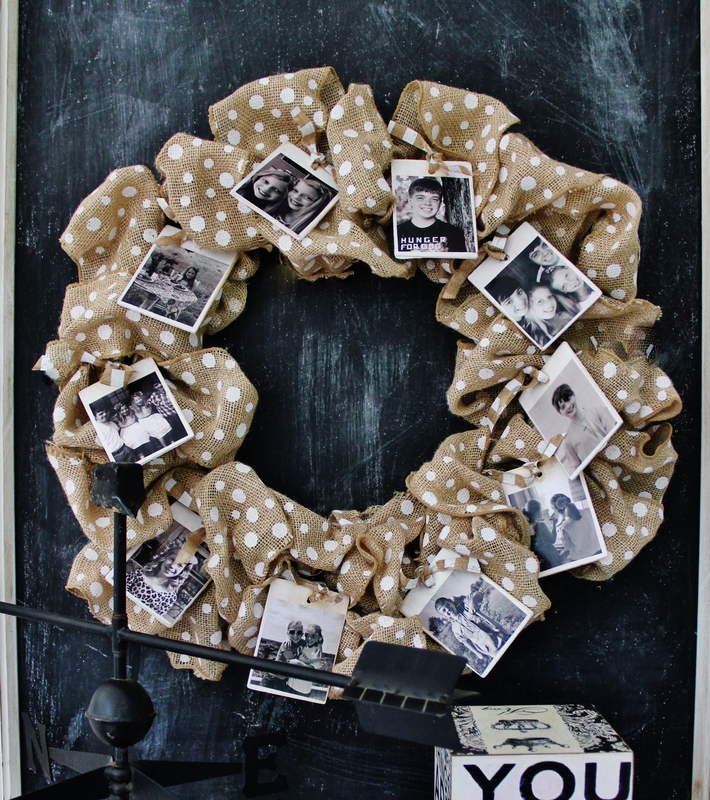 How to make a burlap wreath 30 diy tutorials guide patterns Making wreaths