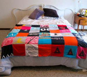 How to Make a Tshirt Quilt Step By Step