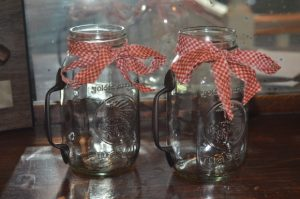 Mason Jar Cups With Handles