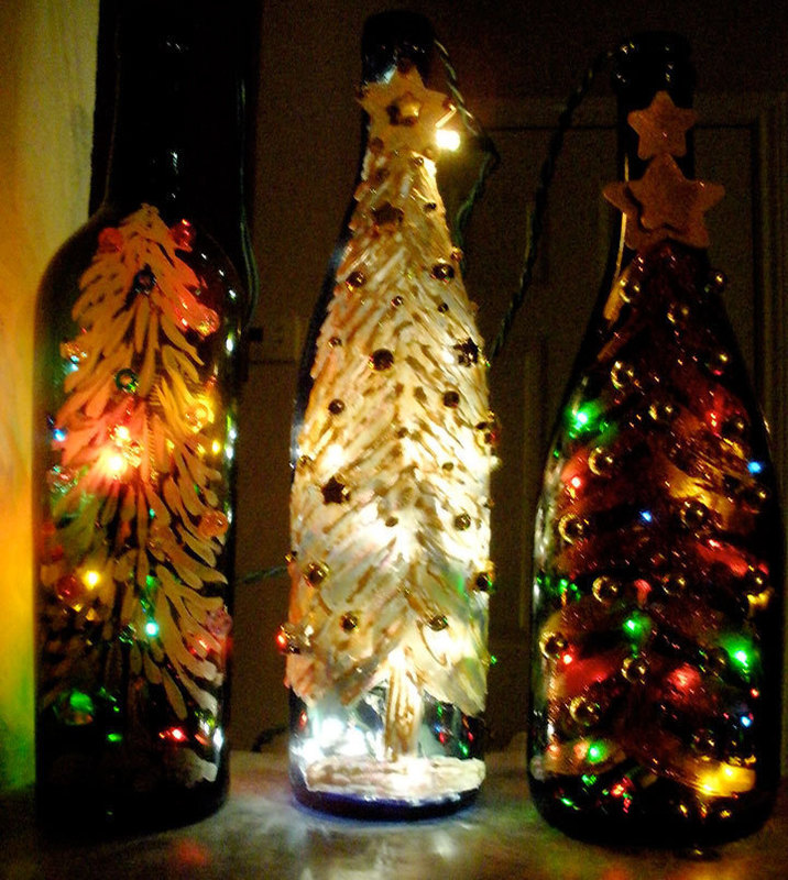 How To Decorate Wine Bottles Interesting 60 Painted Wine Bottles With HowTos Guide Patterns