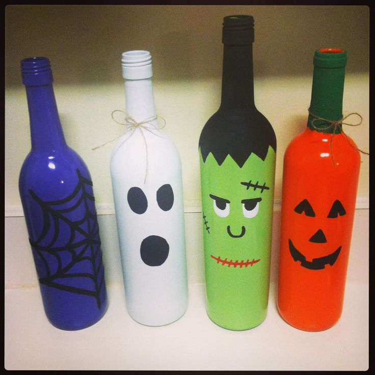 10 Painted Wine Bottles with How-Tos | Guide Patterns