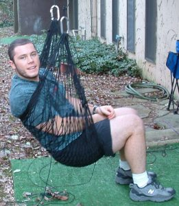 Paracord Hammock Project