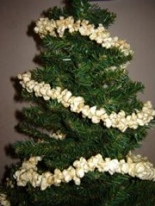 White Christmas Garlands