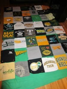 Sorority Tshirt Quilt