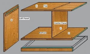 TV Stand Plan DIY