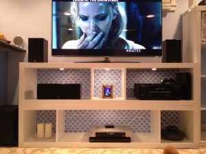 Used DIY TV Stand