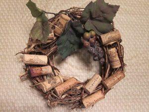 Wine Cork Wreath Instruction