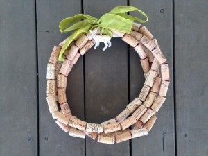 Wine Cork Wreath Picture