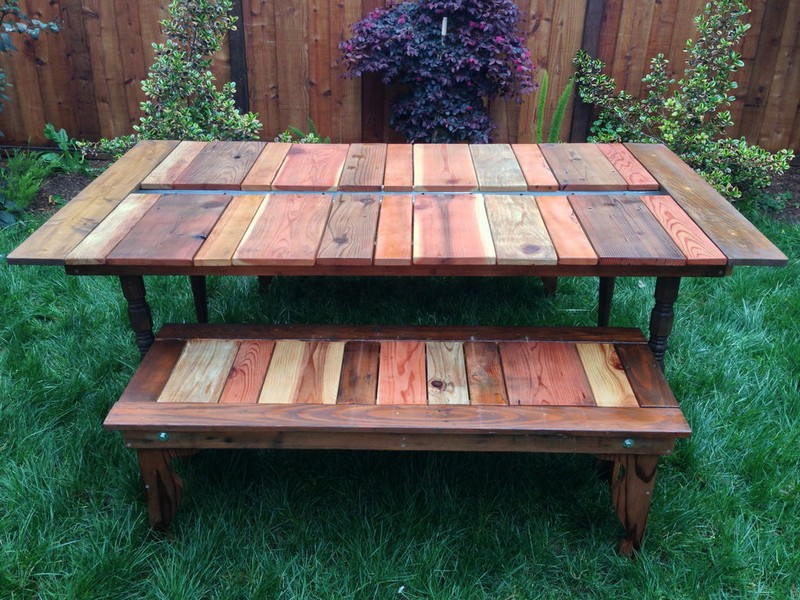Wooden Picnic Table Top. 21 Wooden Picnic Tables  Plans and Instructions   Guide Patterns