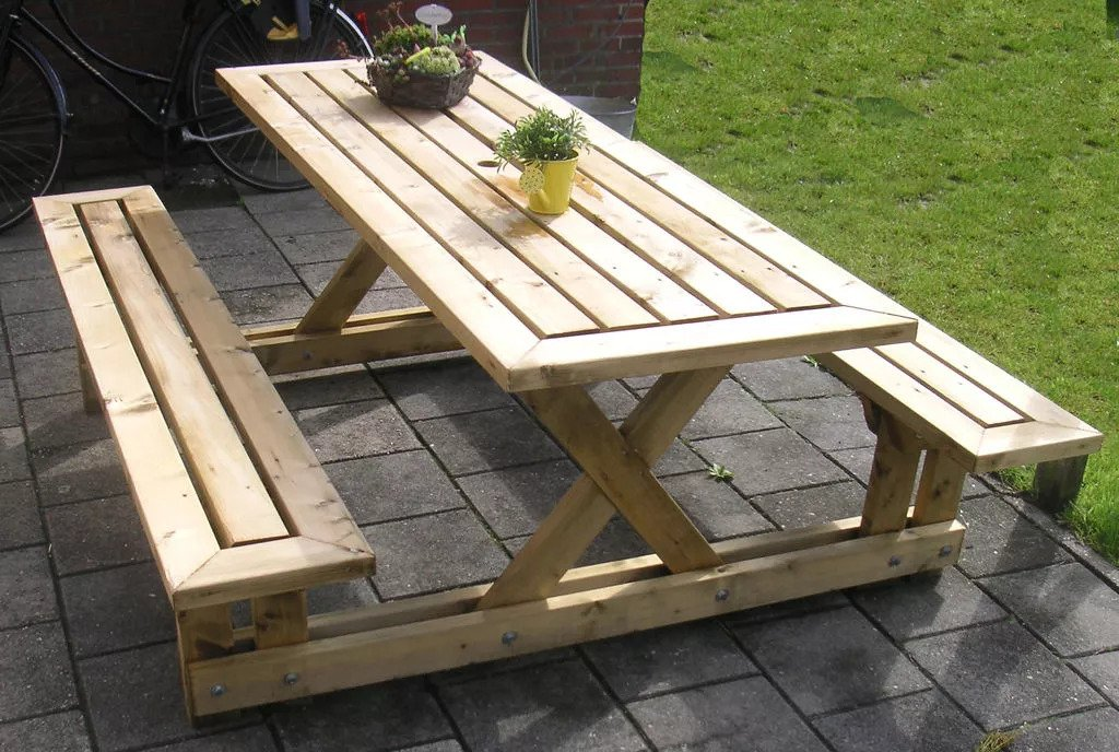 plans for wood picnic tables