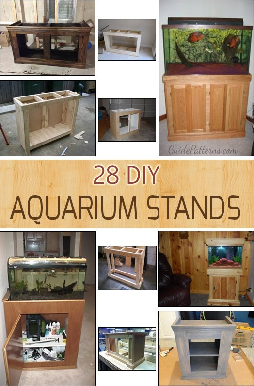 28 DIY Aquarium Stands with Plans | Guide Patterns  Gallon Aquarium Home Design on 55 gallon aquarium designs, 125 gallon marineland, 36 gallon aquarium designs, 75 gallon aquarium designs, home aquarium designs, 50 gallon aquarium designs,
