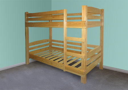 homemade bunk bed - Bunk Beds For Kids Plans