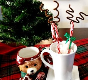 Candy Cane Reindeers