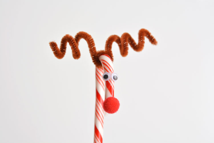 Fun candy cane reindeer crafts guide patterns