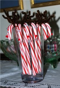 Candy Cane Reindeer Pictures
