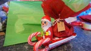 Candy Cane Sleigh Craft