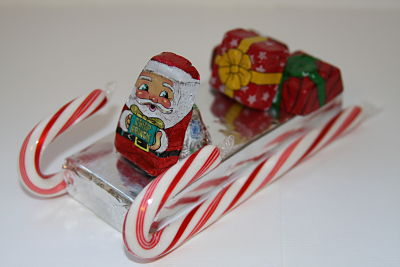 candy cane sleigh - Candy Sleighs For Christmas
