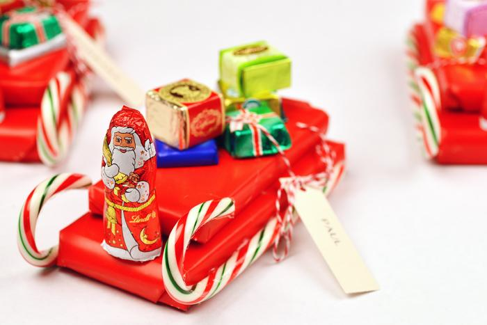 10 candy sleigh ideas with instructions guide patterns for Edible christmas gift ideas to make