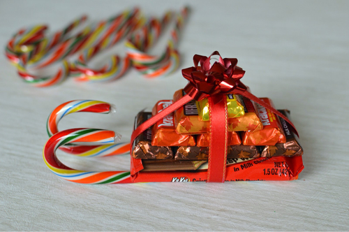10 Candy Sleigh Ideas with Instructions | Guide Patterns