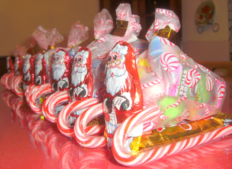 candy sleighs - Candy Sleighs For Christmas