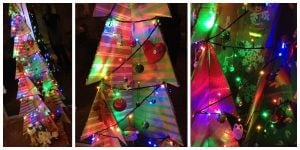 Cardboard Christmas Tree Decorations