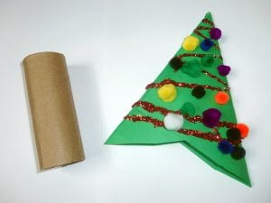 Cardboard Christmas Tree Ornaments