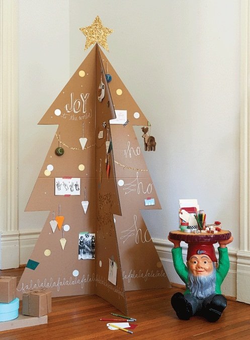 Diy Christmas Tree Decorations From Cardboard